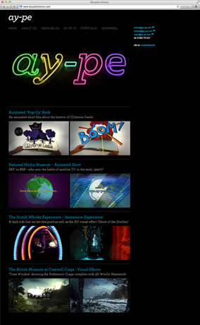 Ay-pe website screenshot