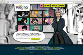 Futura Consulting website screenshot